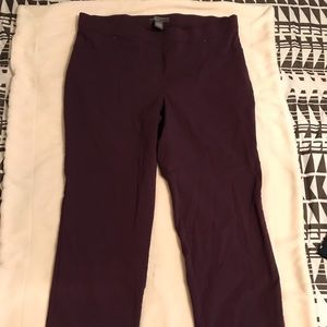 Pants - Maroon slacks